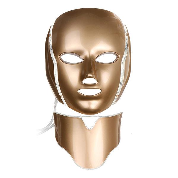 ماسک گلد صورت و گردن ال ای دی LED FACIAL MASK